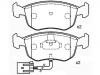 Brake Pad Set:93BB-2K021-DC